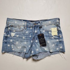 New Lucky Brand Size 6/28 Shorts The Cut Off